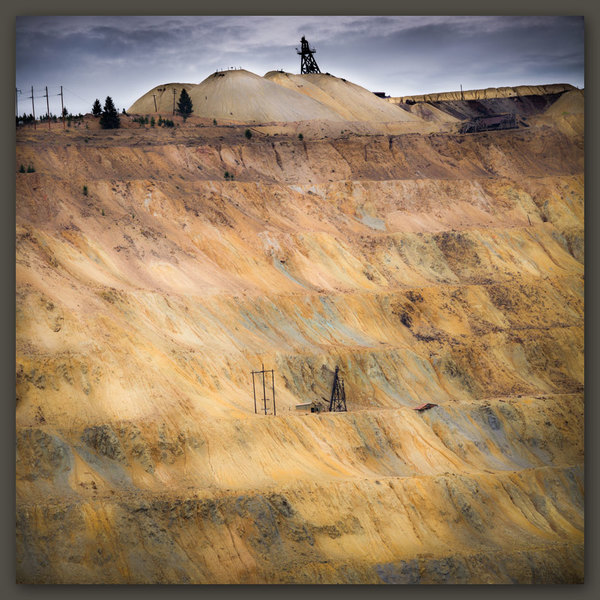 The Berkeley Pit, Butte, Montana