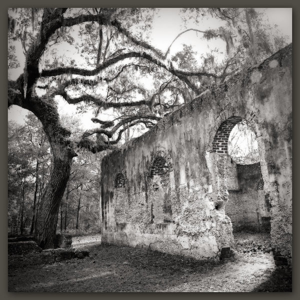 Ruins of St. Helena's Chapel of Ease, St. Helena Island, SC