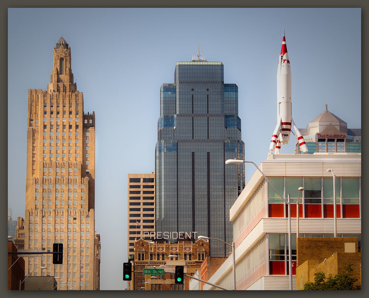 Rooftop Rocket, Kansas City, Missouri