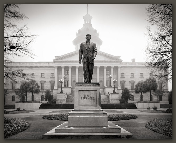 Strom Thurmond, South Carolina State House, Columbia