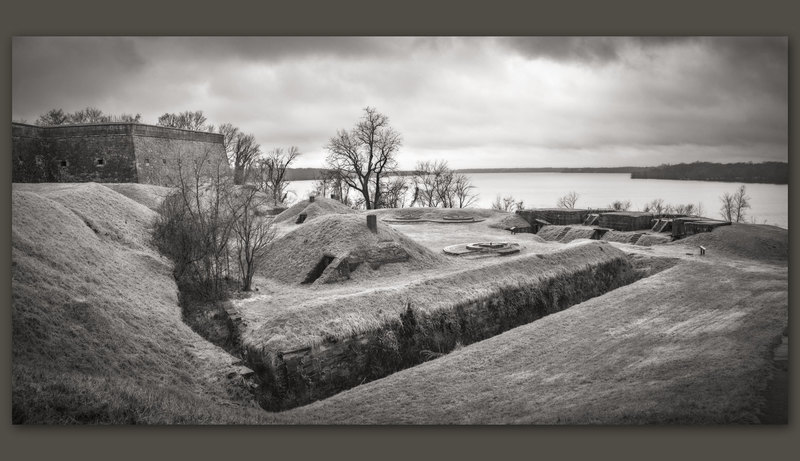 Fort Washington and the Potomac River, Maryland