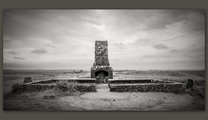Fireplace, Coronado Heights, Kansas