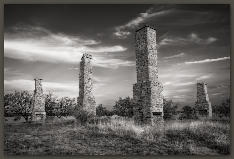 Chimneys, Fort Phantom Hill, Texas