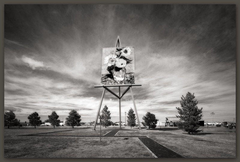 World's Largest Easel, Goodland, Kansas