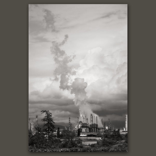 Oil Refinery, Fidalgo Bay, Washington