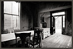 Miller House Interior, Bodie, California
