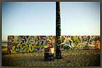 Painted Wall, Venice Beach, California